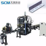 Máquina de corte de ângulo do trabalhador de ferro Máquina de perfuração
