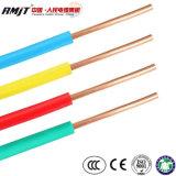 Bt 450/750V H07V-U condutores de cobre com isolamento de PVC bainha PVC Fio eléctrico