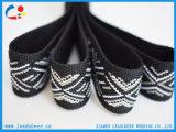 Moda 100%poliéster tejido Jacquard por Playa zapatillas zapatos