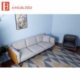 Modernes ledernes Luxuxsofa-gesetzte Möbel Hotel-Vorhalle-Italien-Nappa für Verkauf