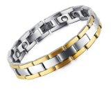 Grande oro dell'acciaio inossidabile di larghezza del braccialetto 13mm di collegamento Chain degli uomini/commercio all'ingrosso d'argento dei monili degli uomini del braccialetto di colore