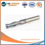 L'extrémité en carbure de tungstène solide Grewin Mill