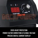 Bio-Voltage 110V/220V 60 Hz soudeur à arc 160 d'une machine à souder MMA de convertisseur
