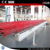 Листа плитки крыши PVC пластмассы машина Corrugated прессуя