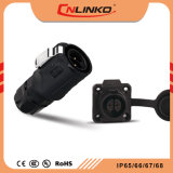 PANEL-Montierungs-Verbinder Linko-PBT imprägniern Plastik2 Plastikstecker und Kontaktbuchsen Pin-M16 für Miet-LED-Bildschirm