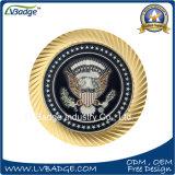 特別な端が付いているカスタマイズされた記念品の硬貨