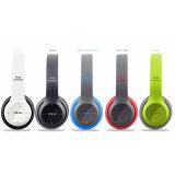 TF van de Hoofdtelefoons van de Handen van de Muziek Bluetooth van de fabriek de In het groot Draadloze Stereo Bas Vrije Groef van de Kaart