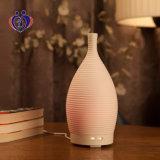 Difusor ultrasónico de cerámica delicado del aroma del petróleo esencial de la niebla fresca