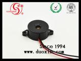 85dB 22mm 철사 Piezo 초인종 12V Dxp2210W
