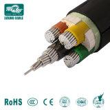 Leider 4 van het koper de Kabel van de Macht van Kernen 50mm2