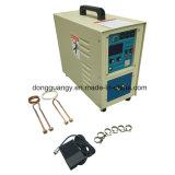 портативная электрическая высокочастотная машина металла топления индукции 15kw