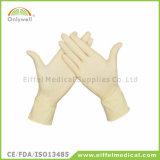 Steriler medizinischer Wegwerflatex pulverisierter chirurgischer Handschuh