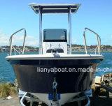 Liya 5.8meter Panga катера FRP работу строителей на лодке