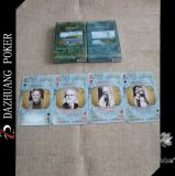 100 cartões de jogo plásticos, 555 cartões de jogo, cartões de jogo de Kem