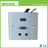 HDMI USB VGA AV 86 de Plaat/het Draagvlak van de Muur van de Legering van het Aluminium van het Type