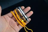 Qualitäts-Polizei Metal Pfeife für Praxis (SYSG-625)