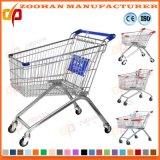 Boutique supermercado Carro de compras con la cesta (Zht74)