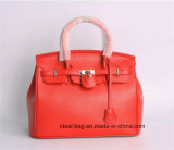 Signora di cuoio su ordinazione Handbags del progettista dell'unità di elaborazione di modo