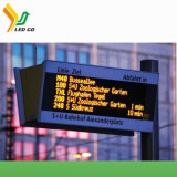 Farbenreiche InnenP10 LED Display/P10 LED Screen/P10 LED Anschlagtafel