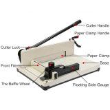 """12 """" 단두대 종이 자르는 칼 트리머 기계 홈 산업 사용 A4 종이 자르는 칼 절단기 기계"""