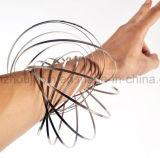 Nuovo giocattolo magico dell'anello di flusso dell'acciaio inossidabile dell'OEM