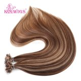 バージンの人間のRemyの毛、9A等級のブラジルの毛の拡張