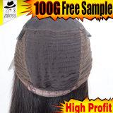Toupee del pelo humano de la primera clase para los casquillos de la peluca de las mujeres para hacer pelucas