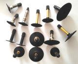 Noyau de valve en laiton, soupape en laiton, noyau de valve, noyau de valve de pneu, cheminées de soupape, Telfons, faisceaux pour des soupapes de cylindre de gaz