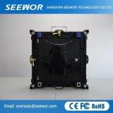 Il livello il quadro comandi fisso dell'interno del LED di velocità di rinfrescamento P3mm per la pubblicità e perfino