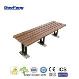 Compuesto de plástico madera WPC productos al aire libre, jardín Banco de listones