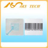 Étiquette de la fréquence rf du système 8.2MHz de l'étiquette EAS de garantie de contrôle de Shopliting