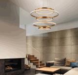 حديثة بيتيّة يعيش غرفة مستديرة أكريليكيّ مدلّاة ضوء ([مد60168-5-1080])