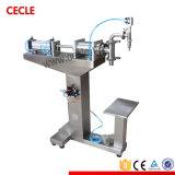 Machine van het Flessenvullen van het roestvrij staal de Pneumatische Semi Automatische Vloeibare