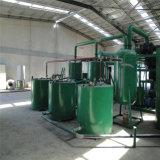 機械をリサイクルする黒いエンジンオイルの蒸留ベースオイル装置または混合物オイルの蒸留機械か使用されたオイル