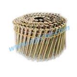 15 de Vlotte Spijkers 2.5*70 HDG van de Rol van de graad/het Roestvrij staal Galv van de Ring/van de Schroef