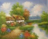 Reproductie van de Olieverfschilderijen van Thomas Garden voor de Decoratie van het Huis