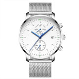 Vigilanza classica su ordinazione del cronometro degli uomini di fascia della maglia di marchio