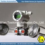 Transductor de presión diferencial industrial para el combustible, aceite, gas, vapor, aire