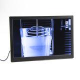 Nouveau design du moniteur 18 pouces LCD IPS monté sur un mur la signalisation numérique avec le lecteur