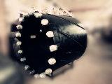 Шаг зубьев сверла шнека Rock хвостовика для внесения удобрений
