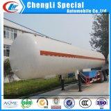 La norme ASME 56, 000L Gaz de cuisine/propane/butane Camion de livraison tanker GPL semi-remorque