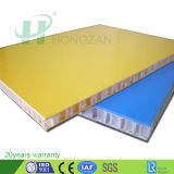 Peso da luz de fibra de vidro PP de plástico do painel do tipo sanduíche de favo de mel