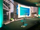 HD P6.25mm courbe intérieure pour la publicité de l'écran à affichage LED