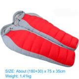 熱い販売の耐久の屋外の折りたたみの暖かいアヒルの寝袋