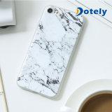 Ultra-fino Padrão de mármore borracha macia em TPU Tampa da Caixa Traseira para iPhone 6/7/8 Plus