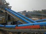 Bulk Material Systemのためのゴム製Pipe Conveyor