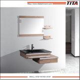 Armário de casa de banho de contraplacado moderno/banheiro pequeno vaidades/Italiano armário de banheiro T9028b