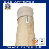 La alta temperatura de aramida de PTFE Nomex bolsa filtrante