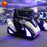 La plataforma de movimiento de las carreras de 360 Vr atractivo coche de carreras de equipos de conducción Simulador de VR