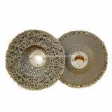 Disco di smeriglitatura del diamante legato abrasivo della resina della falda per metallo